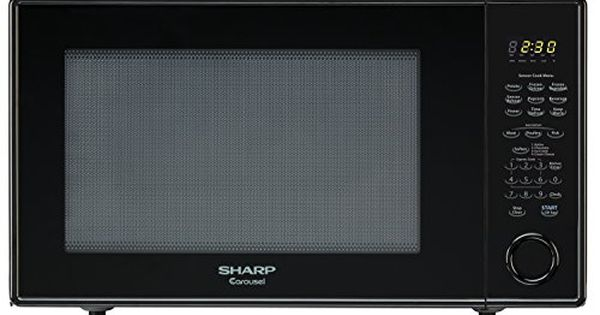 Sharp Countertop Microwave Oven Zr659yk 22 Cu Ft 1200w Black With