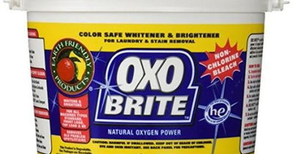 Earth Friendly Oxo Brite Color Safe Whitener Brightener For
