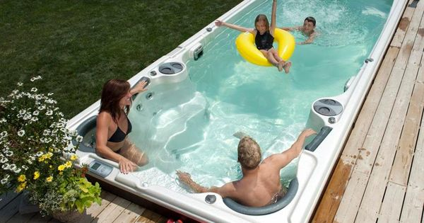Is It A Pool Or Is It A Hot Tub Can You Use It All Year Can You Swim Against A Current Can