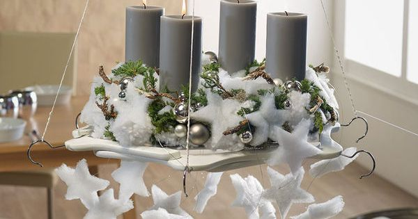 design ideen f r moderne adventskr nze h ngekranz auf b gelscheibe kerst pinterest. Black Bedroom Furniture Sets. Home Design Ideas