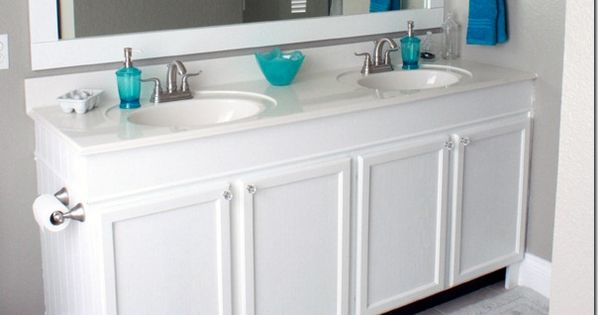 How To Raise Up A Short Vanity On The Side A House And Vanities
