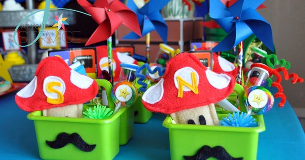 Super Mario Brothers Birthday Party Ideas | Photo 29 of 47 |