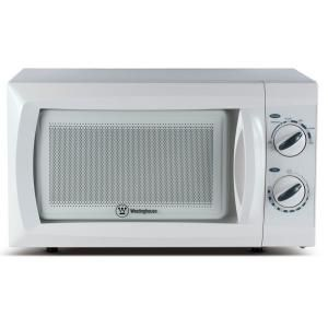 Westinghouse 0 6 Cu Ft Microwave Oven In White Wcm660w At The