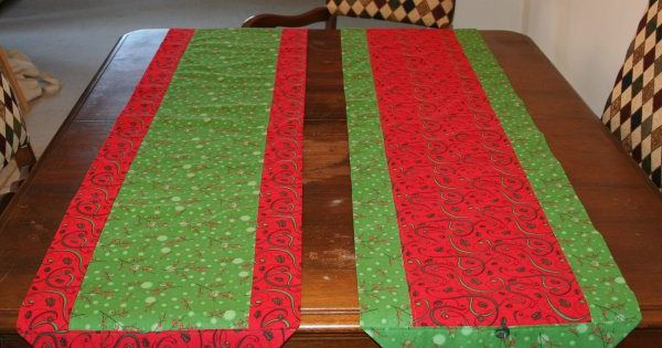 A different way of doing the 10 minute table runner for 10 minute table runner placemats