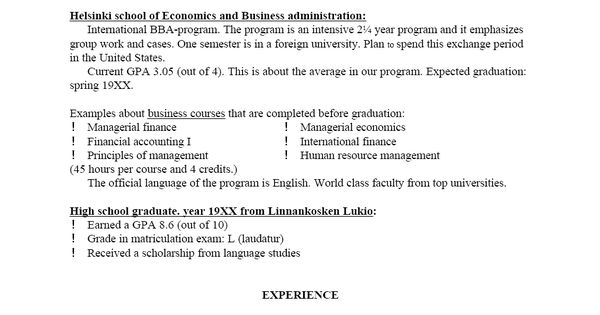 Various Resume Formats ] - of analyst resume formats visit ...