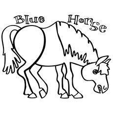 Eric Carle Coloring Pages Free Printables Horse Coloring Pages