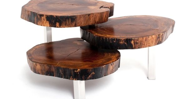 Natural Wood Coffee Table Exotic Wood Furniture Stop By