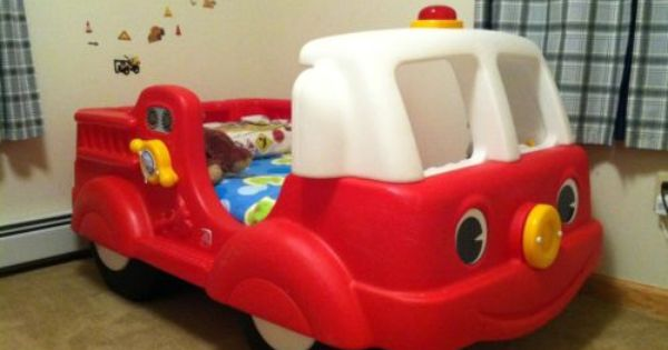 Step 2 Fire Engine Toddler Bed Firetruck Bed Toddler Bed Boy