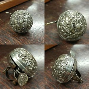 Details About Antique Bicycle Bell Bristol Bell Company Ct Usa