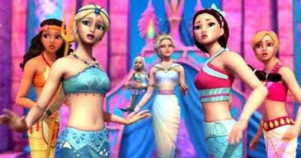 Barbie Em Portugues Filme Completo Barbie Em Vida De Sereia 2
