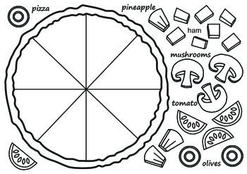 Make Your Own Pizza Make Your Own Pizza Fractions Fraction