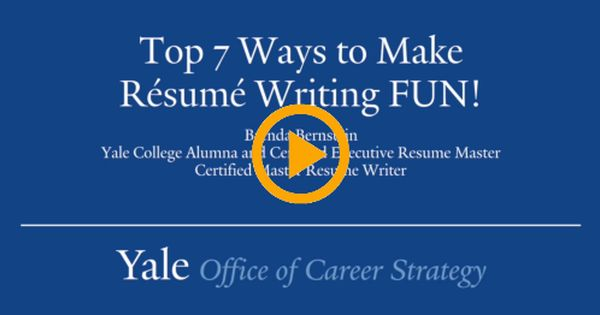 Resume Writing, FUN? Yes! Here Are My Top 7 Ways Resume writing - resume writing academy