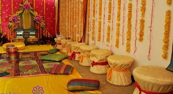 Mehndi Function Decoration Ideas At Home : Mehndi function decoration ideas at home wedding
