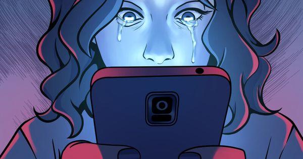 Artstation Social Media Allie Preswick Ilustracoes Conceituais Desenhos Sobre Bullying Ilustracoes Satiricas