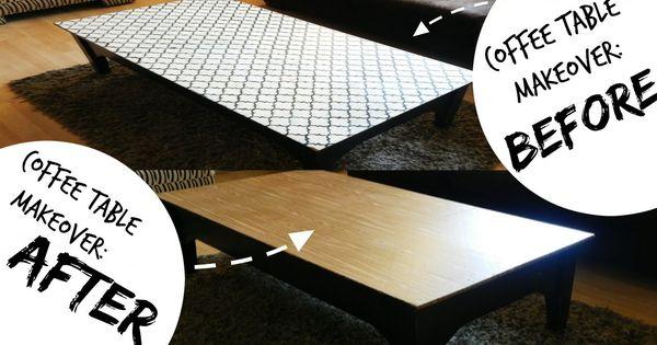 Coffee Table Makeover   Minimalist DIY (Kid Friendly Living Room Decor I...  | Craft World | Pinterest | Faça Você Mesmo, Decoração E Criança Part 61