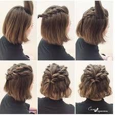 Pin By Ashley Easterling On Rhiannon Short Wedding Hair Wedding Guest Hairstyles Medium Length Hair Styles