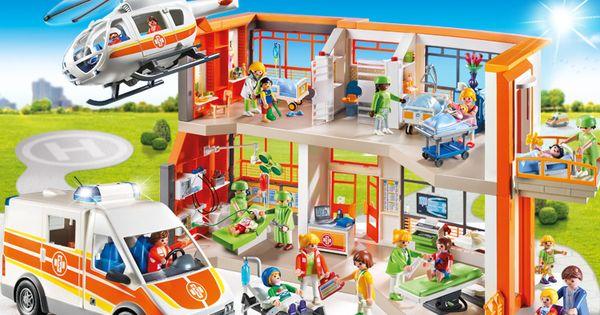 die playmobil kinderklinik ist eines der neuen themen des. Black Bedroom Furniture Sets. Home Design Ideas