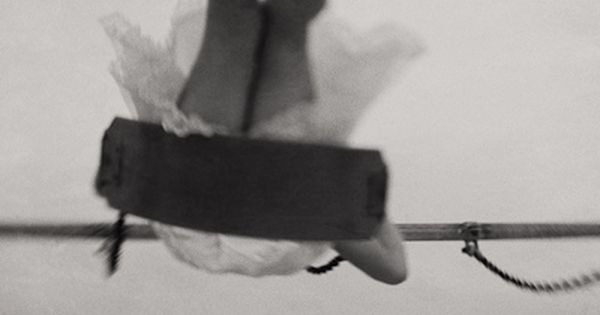 swing, play, palms, woman, photography, moody, upside down, air, flying, barefoot, adventure,