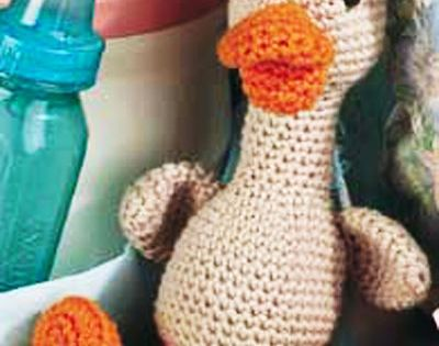 The Ugly Duckling free crochet pattern of the day from free-crochet.com 8/28/...