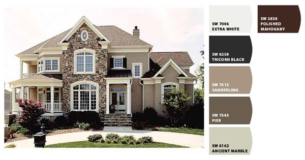 Sherwin Williams Sw6162 Ancient Marble Sw7545 Pier