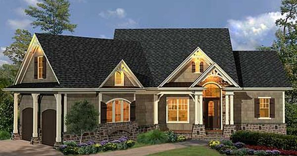 Craftsman Ranch Craftsman And Mountain House Plans On