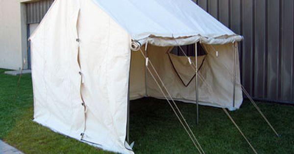 Roll Up Canvas Door Studio Pinterest Wall Tent