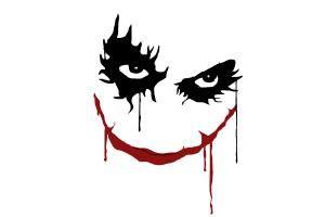 Tattoo Vorlagen Joker Gesicht Joker Gesicht