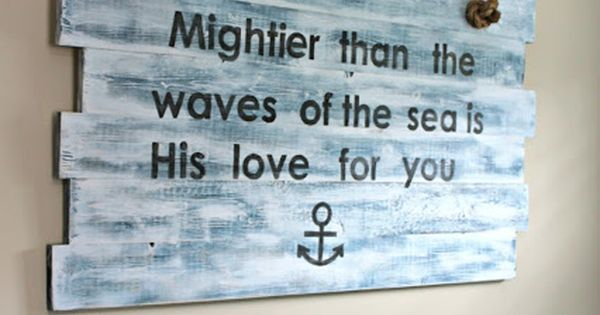 Decorate Me Diana: Nautical Sign {DIY} via Diana Avery Avery Avery Avery
