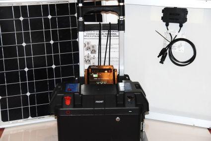 Solar Powered Generator 100 Amp 3000 Watt Solar Generator Just Plug And Play Solar Powered Generator Best Solar Panels Solar Heating