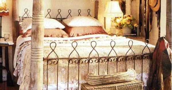 handmade salvage bed // cowgirl style // the outpost