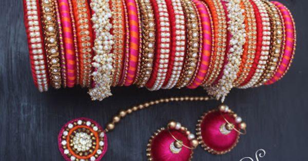 Silk Thread Wedding Jewellery Bileklikler Pinterest