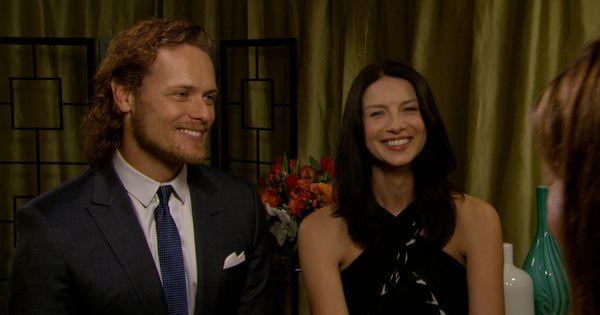 Outlander s Sam Heughan & Caitriona Balfe Are Not Dating