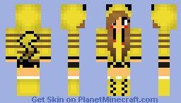 Pikachu Girl Minecraft Skin Pikachu Minecraft Minecraft Skins