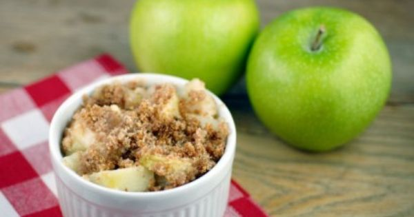 This makes me think that I should make individual Apple Crisps (but