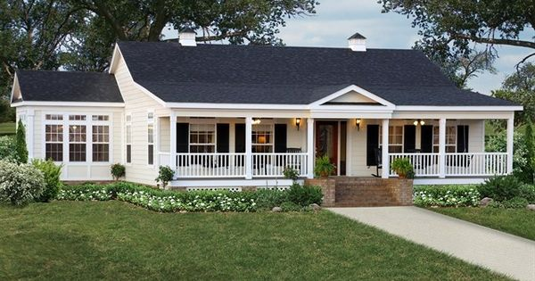 Single story home with wrap around porch google search for Wrap around porch cost