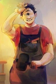 Tyson official art. Created by Viria. | Dibujos percy jackson ...