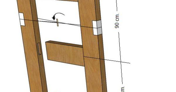 Como hacer puerta de madera hazlo tu mismo diy pinterest for Como hacer una puerta de madera