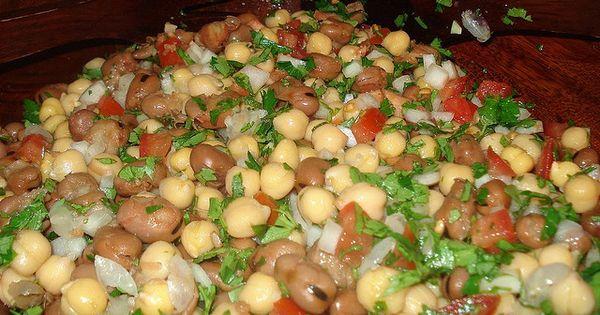 Foul Medames Fava Beans Salad Bean Salad Lebanese Recipes