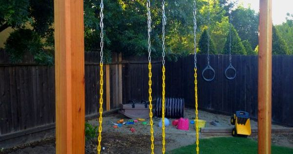 Image Result For 6x6 Post Swing Set Playground Pinterest Swing Sets Swings And Posts