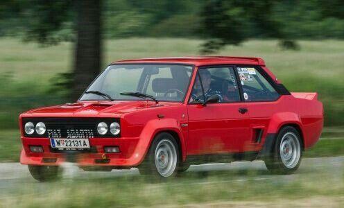 Fiat 131 Mirafiori Abarth Carros Classicos Carros Auto