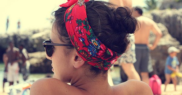 head scarves make me miss summer