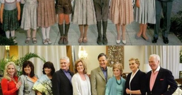 My favorite movie. The Von Trapp family 45 years later!