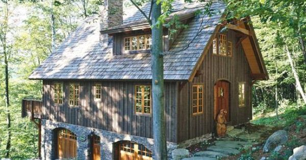 Award Winning Small Home Designs: Timber Frame Home At Hawk Mountain, Vermont, An Award