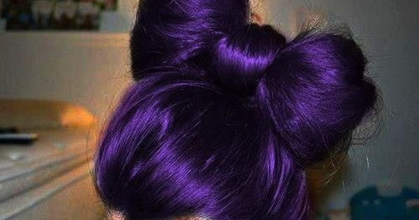 Purple hair dye... Love this shade of purple