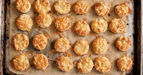 bite-size bacon and cheese scones | My Style | Pinterest | Cheese ...