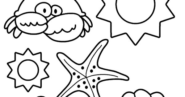 Summer Coloring Pages 8