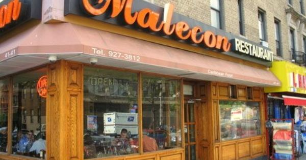 Malecon Restaurant 4141 Broadway Between 175th St 176th St New York Ny 10033 Neighborhood Washington H Washington Heights Restaurant New York Ny City