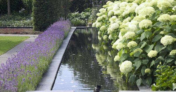 Tuin tuinontwerp tuinarchitect hovenier hoveniersbedrijf tuinaanleg beplanting beplantingsplan - Terras rand idee ...