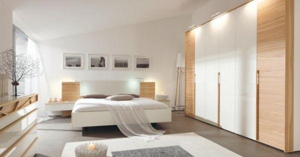 SCHLAFZIMMER Eschefarben, Weiß Interiors and House - schlafzimmer von hülsta