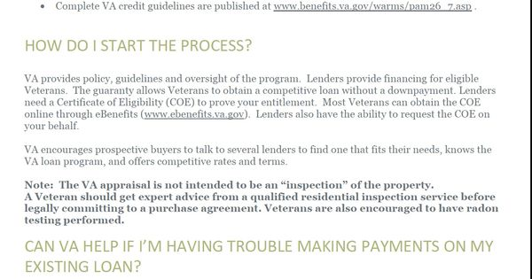 I am NOT an Expert yet on VA, but I do know who to contact. www ...